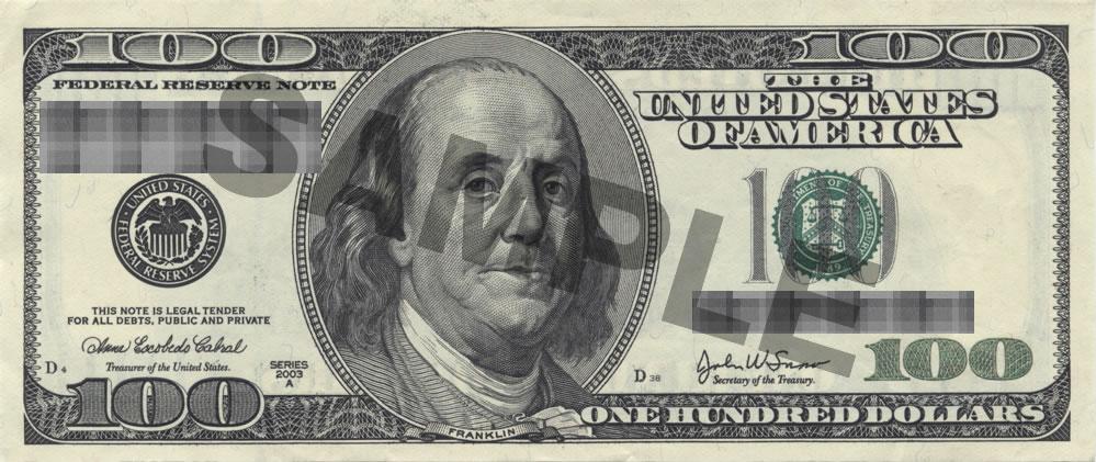 100ドル札に描かれていることでも有名なアメリカの偉人であるベンジャミン・フランクリン